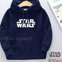 jaket sweater anak star wars Hoodie pria wanita