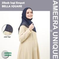 BELLA SQUARE Jilbab Hijab Kerudung Segi Empat SegiEmpat Square Double