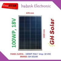Panel Surya 100Wp POLY - Solar Panel 100 Watt PV 100 Wp