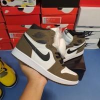 Sepatu Nike Air Jordan 1 High OG Sail/Dark Mocha