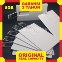 Flashdisk Kartu Polos 8GB - USB FD Card 8 GB - Flash Disk Kartu