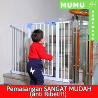 Pagar Pengaman Safety Gate Non Permanent SerbaGuna - Gate ONLY