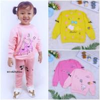 [PREMIUM IMPORT] Sweater Klowie uk 1-15 Tahun / Baju Anak Perempuan