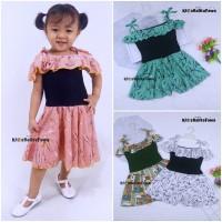 Jumpsuit Sweety uk Bayi - 4 Tahun / Baju Anak Perempuan Overall Kensi