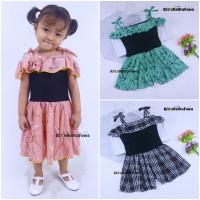 Jumpsuit Sweety uk 3-4 Tahun / Baju Anak Perempuan Overall Kensi