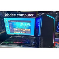 PC GAMING CORE I7 RAM 16 GB SSD 240 GB WITH LED 24 IN SAMSUNG CURVED