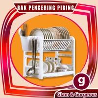 Rak Dapur Pengering Piring kokoh dan Tahan Lama - RD019