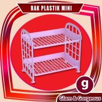 Rak Plastik Mini Serbaguna 2 Susun RT011