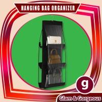 Hanging Bag Organizer 6 Pockets Rak Gantung Tas Anti Debu HBO001