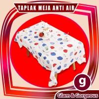 Taplak Meja Anti Air PEVA TPM008 Ukuran 137cm x 180cm