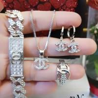 Xuping Set Perhiasan Lapis Emas 24k h3023