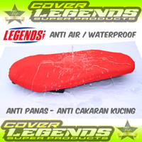 Cover Jok Sarung Jok Motor PCX,NMAX,AEROX,LEXI Anti Air - Hitam