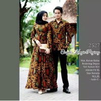 Baju Batik Couple Kemeja Panjang 2527