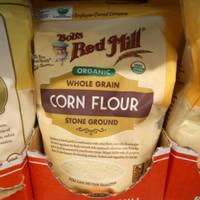 BOB'S RED MILL ORGANIC whole grain XORN FLOUR 680 gram