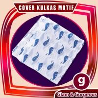 Taplak Penutup Kulkas Waterproof Cover Kulkas Bahan Peva CK002