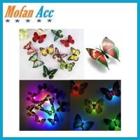 Lampu Hias Kupu-Kupu LED Lampu Dinding Dekorasi Kamar Tidur Butterfly