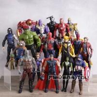 Mainan Action Mini Figure Pajangan Super Hero Avengers Avenger Marvel