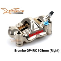 Kaliper Brembo Monoblock GP4RX 108 MM Sebalah KANAN ONLY