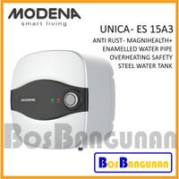 Water Heater 15 Liter Modena Unica / Pemanas Air Listrik Modena ES15A3