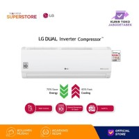 LG AC Dual Cool Inverter Wall Mounted Split 1 PK - T10EV4