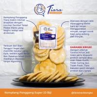 Krupuk Kerupuk Kemplang Panggang/Bakar Asli Bangka Tiara Snack Bangka