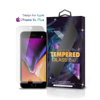 Tempered Glass iPhone 6 6S Plus Full Cover Clear - Premium Glass Pro