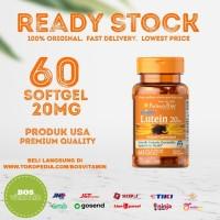 Puritan's Pride Lutein 20 mg w/ Zeaxanthin 60 Softgel
