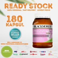 Blackmores Pregnancy and Breastfeeding Gold BPOM Kalbe - 180 kapsul