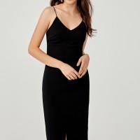 Tonia Camisole Bodycon Dress - Black