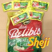 SAMBAL DUA BELIBIS / SAUS CABE SACHET ISI 24 SACHET