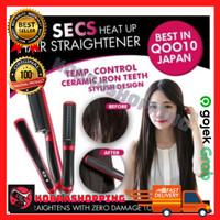 Hair Straightener Sisir Dan Catok Dalam Satu Genggaman | Catok Sisir !
