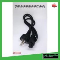 kabel power laptop charger adaptor 3 lubang new