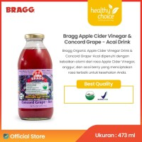 Bragg Organic Apple Cider Vinegar Drink & Concord Grape-Acai 473 ml