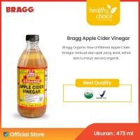 Bragg Organic Raw Unfiltered Apple Cider Vinegar 473 ml