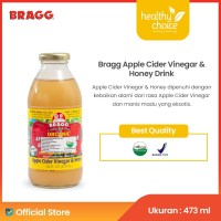 Bragg Organic Apple Cider Vinegar & Honey Drink 473 ml