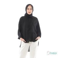 Atasan Muslim Wanita | Oversized Blouse Hitam | Original