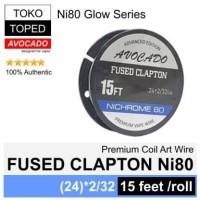 Authentic Avocado FUSED CLAPTON NI80 wire | rda rdta nichrome glow