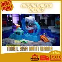 Robo Shark Frenzy Color Shifters Hot Wheels City Mainan Track Diecast