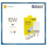 10W Charger REALME Fast Charging 2A V8 MICRO USB ORIGINAL 100% 2Ampere