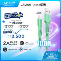 ACMIC CFL100 Kabel Data Charger iPhone Lightning Fast Charging Cable
