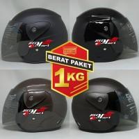 Helm DAISO Evo Solid Helm SNI Murah Helm Halfface Helm Evolution