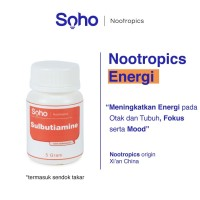 Sulbutiamine Powder 5 Gram - Energi Otak, Focus & Mood - Nootropics