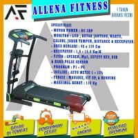 TOTAL FITNESS Treadmill Elektrik TL 133 / treadmill TL133 - BISA COD