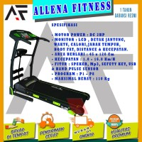 ORIGINAL TOTAL FITNESS Treadmill Elektrik TL 130 / treadmill TL130