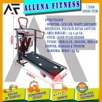 BEST SELLING! TOTAL FITNES Treadmill Manual TL 004 6 fungsi