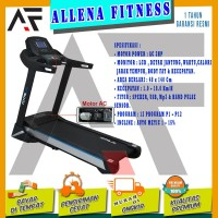 Alat Fitness Treadmill Elektrik TL-29 AC Merk Total Fitness
