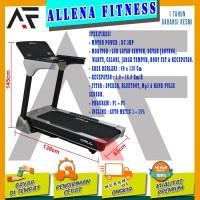 TERLARIS! TOTAL FITNESS Treadmill Elektrik / electric TL 166 Bluetooth