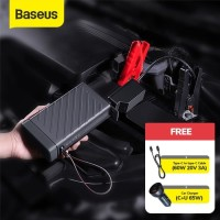BASEUS POWER BANK 220V/100W CAR JUMPER STARTER AKI MOBIL ACCU POWER