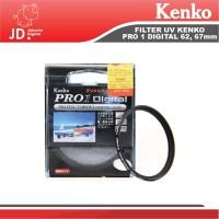 FILTER UV KENKO PRO 1 Digital 62, 67, 72mm pelindung lensa kamera