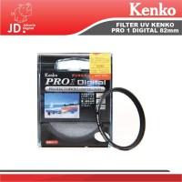 FILTER UV KENKO PRO 1 Digital 82mm pelindung lensa kamera